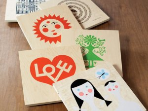 Columbia Forest Products and plywood cards