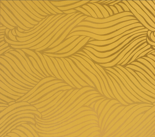 Sheba Wallpaper in Gold, $150 roll   FlavorPaper