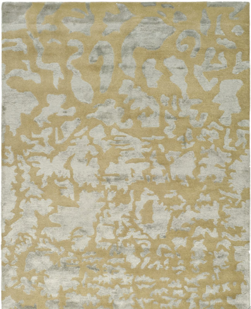 Gold and Silver Wool Rug, 8' x 11' is $1,253 | Safavieh