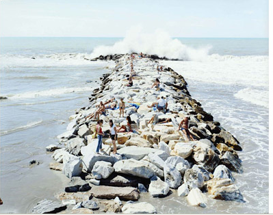 """MadiMa Wave Verticale"" by Massimo Vitali"