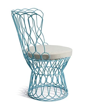 Cecelia Chair, $119 plus $19 for cushion | Grandinroad.com