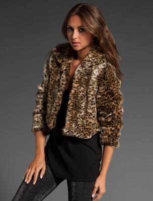 MinkPink Faux Fur Jacket, $107 | Revolve Clothing