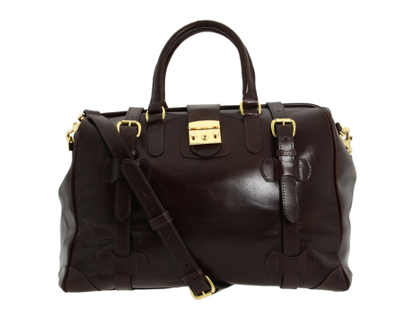 The Stout leather combination has a regal and rich presence. Taxi!