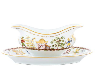 This is a simply stunning story. I love the Cirque Chinois gravy boat by Tiffany & Co., $2,200