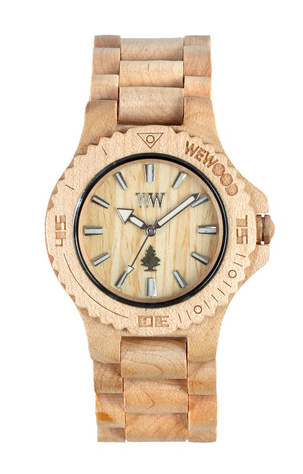 WeWood Date Watch, $119 | WeWood.com