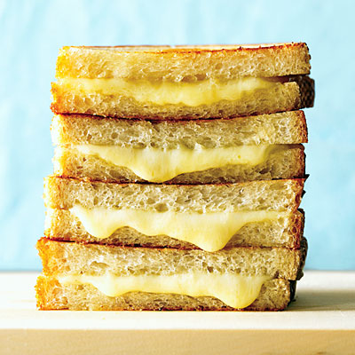 Classic and Basic Grilled Cheese Sandwich