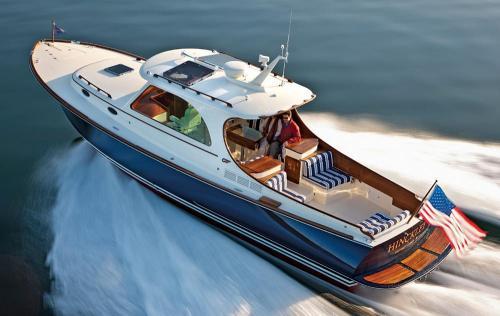Hinkley Picnic Boat MK III