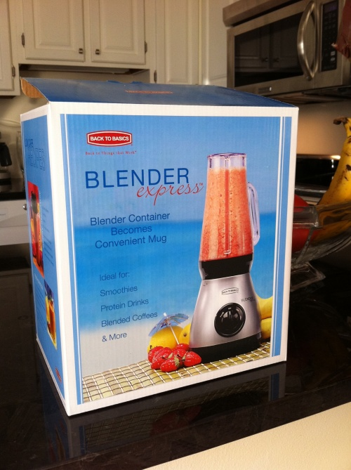Back to Basics Personal Smoothie Blender
