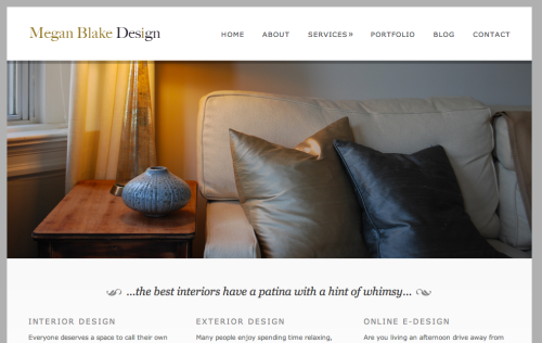 MBD interior design website DC