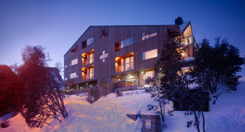 contemporary ski chalet design