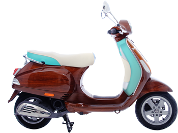 Limited edition vespa tribute scooter