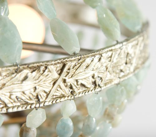 vintage aquamarine chandelier belvedere