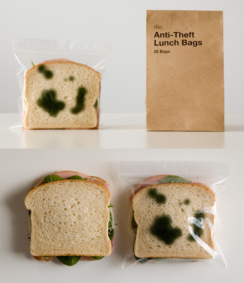 anti theft lunchbags