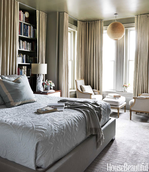 Barry Dixon gray bedroom