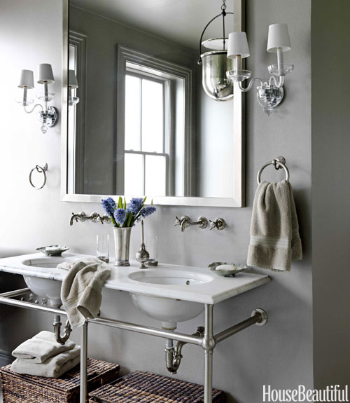 Barry Dixon waterworks sink gray