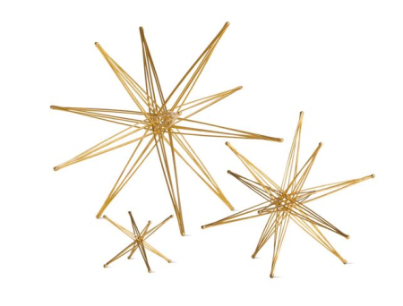 DWR gold star decoration