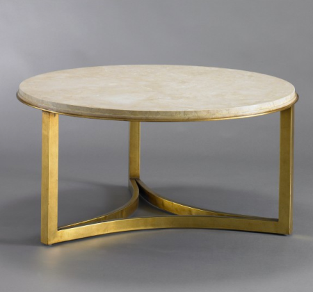 Milo Coffee Table DwellStudio gold round