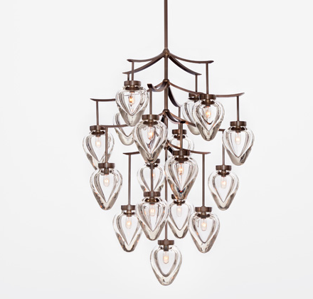 Holly hunt ceiling chandelier fixture