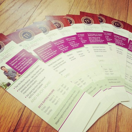 Washington Home & Garden Show tickets