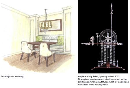 Drawing Room by Kori Keyser of Keyser Interiors