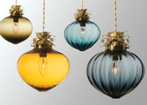 bespoke glass pendants england rothschild and bickers