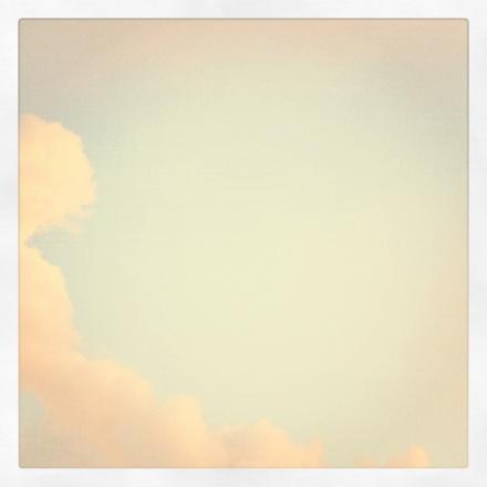 Washington DC sky and clouds